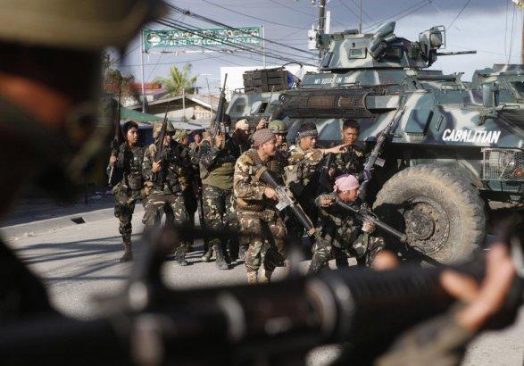 Минобороны Филиппин заявило оликвидации боевиков изЧечни