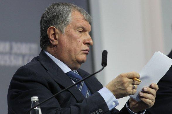 Руководитель «Роснефти» Сечин заглядывает вбудущее, запределы санкций, наложенных на РФ