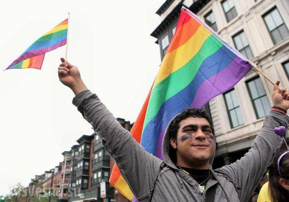 Германия обьявила оготовности принимать усебя геев изЧечни