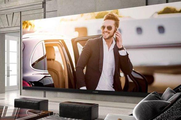 Представлен наибольший вмире телевизор 4K