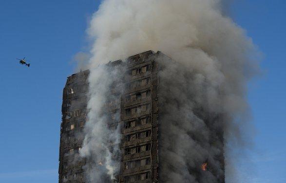 Милиция  Лондона: Жертвами пожара в высотном здании  стали 58 человек