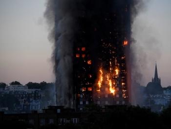 Выросло число погибших в лондонском пожаре
