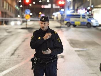 Стрельба в Стокгольме