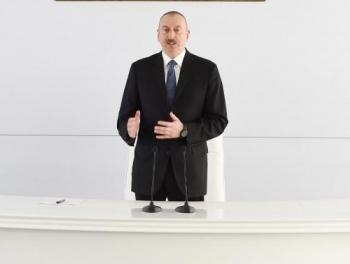 Ильхам Алиев: «Экспорт Азербайджана увеличился на 40%»
