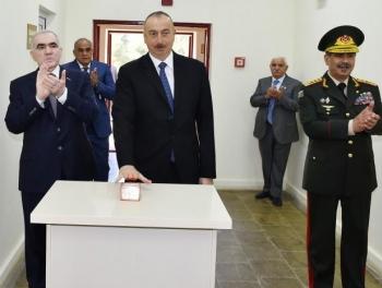 Ильхам Алиев о последних боях в Карабахе