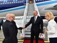 Ильхам Алиев в Польше