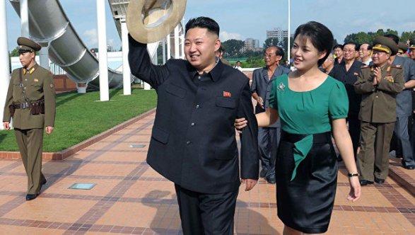 Ким Чен Ынпосетил праздничный прием вчесть удачного тестирования МБР