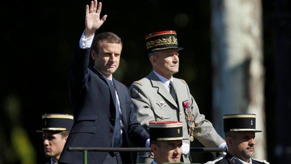 Руководитель Генштаба армии Франции ушел вотставку из-за разногласий сМакроном