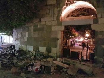 Мощное землетрясение в Турции и Греции