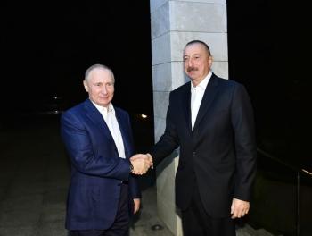 Кого на встрече с Путиным Алиев обвинил в подрыве отношений между Россией и Азербайджаном?