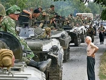 Российские войска захватили часть нефтепровода Баку - Супса