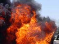 Взрыв в Хатаинском районе Баку