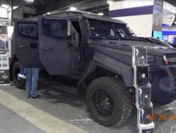 МВД переходит на азербайджанскую бронетехнику