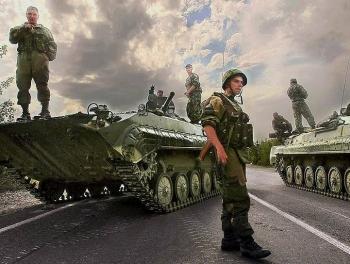 Россия готовится к вторжению в Грузию