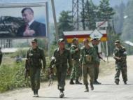 Отряды добровольцев из Грузии выдвинулись навстречу российским войскам