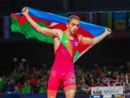 Азербайджанский борец победил армянина... и стал чемпионом мира