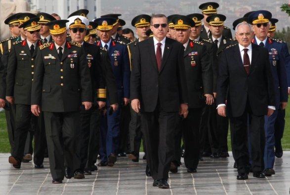 Военный совет Турции решил сократить командующих вооружёнными силами