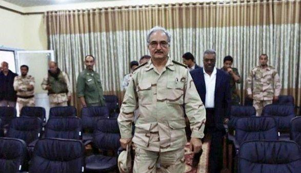 Ливийский маршал прилетит в российскую столицу  навстречу сЛавровым