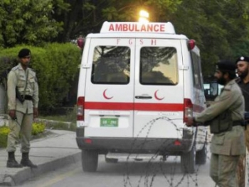 Взрыв в Пакистане: есть убитые и раненые