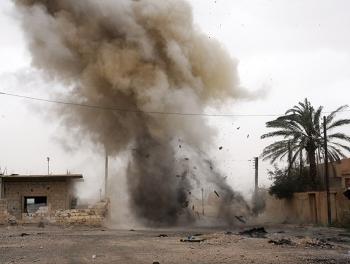 Взрыв в сирийской Латакии