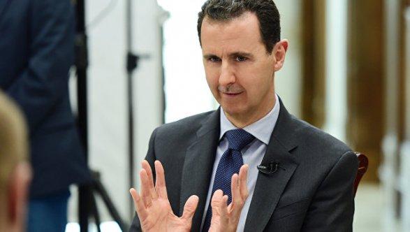 Сирия и Российская Федерация противостоят установлению западной гегемонии наБлижнем Востоке— Асад