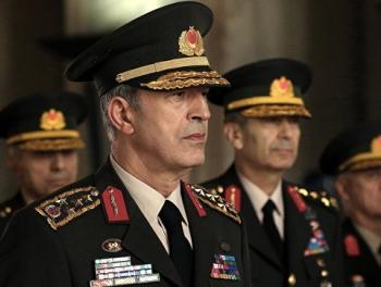 Начальник турецкого генштаба летит в Иран