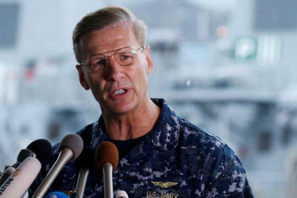Командующего Седьмым флотом США отправят вотставку после ряда инцидентов