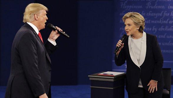 Клинтон назвала Трампа «отморозком», который любит запугивать женщин