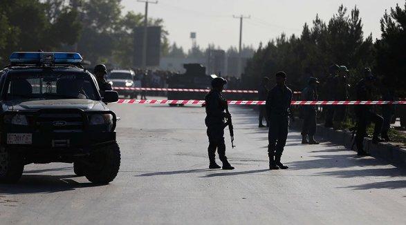 Около посольства США вКабуле произошел мощнейший взрыв