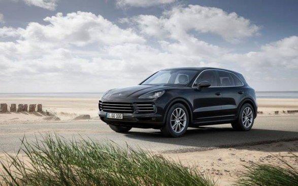 Появилась информация по кроссоверу Porsche Cayenne нового поколения