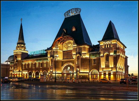 НаЯрославском вокзале в столицеРФ людей эвакуировали из-за угрозы взрыва
