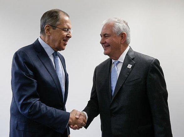 Лавров иТиллерсон навстрече вНью-Йорке обсудили Сирию и государство Украину