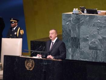 Слово президента И.Алиева: апрельская война может повториться