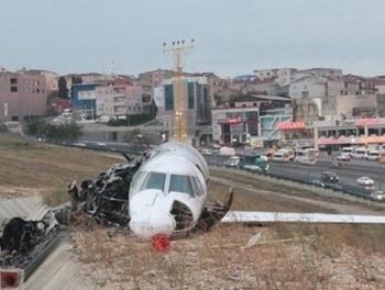 Личный самолет азербайджанского бизнесмена рухнул в Стамбуле