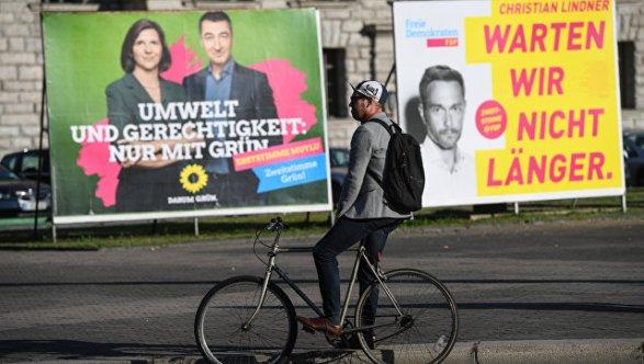 Явка навыборах вБундестаг достигла 41,1%