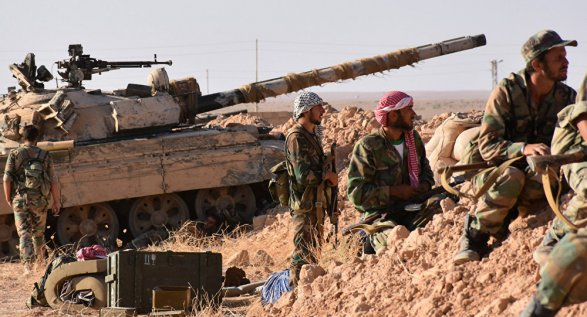 Минобороны Российской Федерации показало разминирование сирийского Дейр эз-Зора