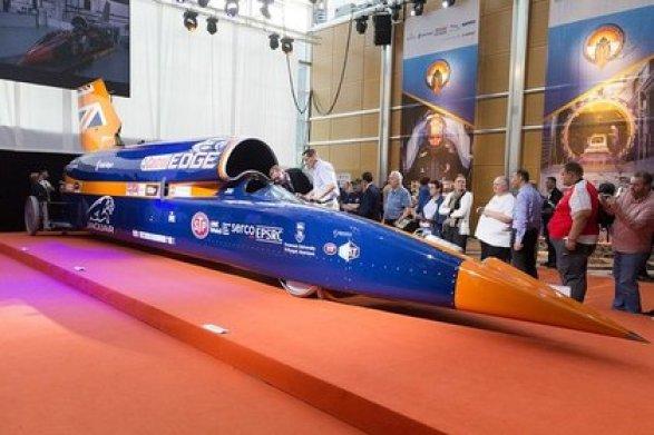 Англичане испытали мотор для сверхзвукового автомобиля-истребителя