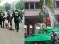Полиция пустила на демонстрантов газ «Сирень»