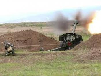Азербайджанская армия применила артиллерию в Карабахе?