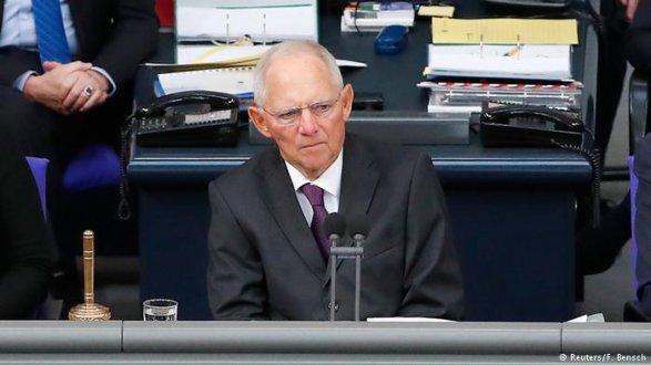 Шойбле был избран новым председателем германского парламента