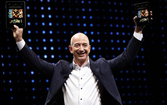Самым богатым человеком вмире стал основатель Amazon Джефф Безос