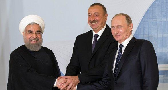 Президенты Азербайджана, России иИрана обсудят вТегеране вопросы борьбы стерроризмом