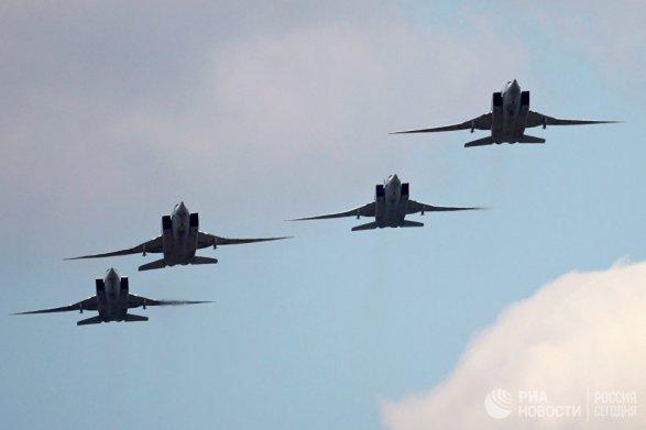 Дальняя авиация ВКСРФ нанесла удар пообъектам террористов вСирии