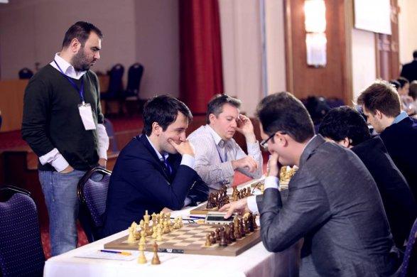 Сборные Российской Федерации начали командный чемпионат Европы пошахматам спобед