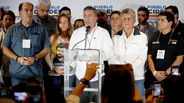 Оппозиция вВенесуэле остановила подготовку квстрече свластями