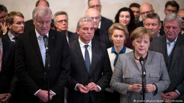 Меркель выступила запроведение повторных парламентских выборов вГермании