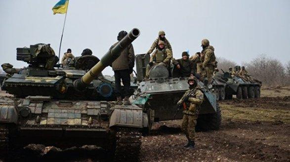Украинские военные обвинили боевиков волжи