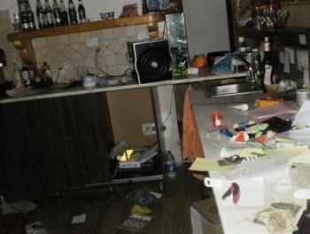 Вооруженные люди разгромили отель под Киевом Ранены азербайджанцы
