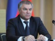 Володин отменил визит в Азербайджан