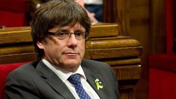 Бывшие лидеры Каталонии под арестом признали власть Испании